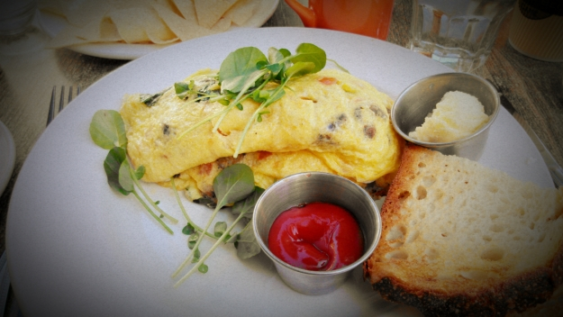 Omelette at Cody's
